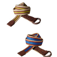 Scotch Shrunk Boys Stripe Cotton College Belt - FINAL SALE