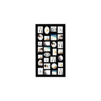 Adeco Trading 29 Opening Decorative Wood Photo Collage Wall Hanging Picture Frame - Walmart.com