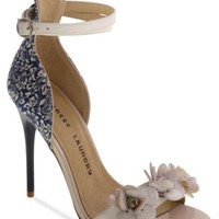 Chinese Laundry Lullaby Two-Piece Flower Beaded Sandals | macys.com