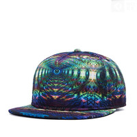 2015 New Men's Fashion Flat Brimmed Hip Hop Hats Snapback Baseball Cap = 5617128129