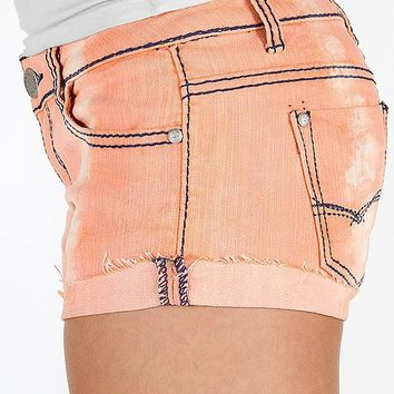 Almost Famous Cuffed Stretch Short - Women's Shorts   Buckle