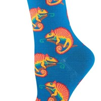 Chameleon - Novelty Crew - Women's Socks