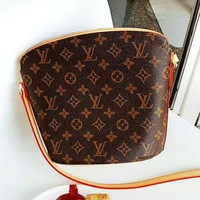 LV Louis Vuitton Newest Popular Women Shopping Bag Leather Shoulder Bag Crossbody Satchel