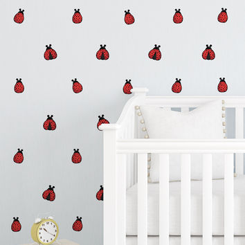 Ladybugs Mini-Pack Wall Decals