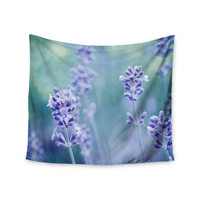 "Iris Lehnhardt ""Lavender Dream"" Flower Purple Wall Tapestry"
