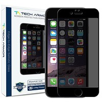 iPhone 6 Plus Privacy Screen Protector, Tech Armor 4Way 360 Privacy Apple iPhone 6S / iPhone 6 Plus (5.5-inch) Screen Protector [1-Pack]