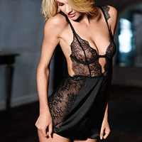 Unlined Chantilly Lace Babydoll - Very Sexy - Victoria's Secret