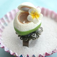 coconut juice ring