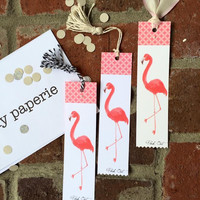 Fancy Flamingo Bookmark