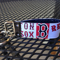 Boston Red Sox Keychain Fob