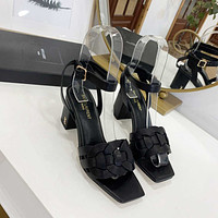 ysl women casual shoes boots fashionable casual leather women heels sandal shoes 73