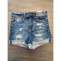 Denim Shorts for Women - High Rise