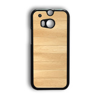 Wooden Panel HTC One M8 Case
