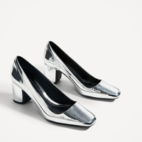 LAMINATED HIGH HEEL SHOES DETAILS