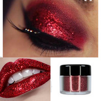 Red Sparkle & Shine Loose Glitter by City Color