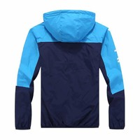 "Fashion ""adidas"" Hooded Zipper Cardigan Sweatshirt Jacket Coat Windbreaker Sportswear [11023175943]"
