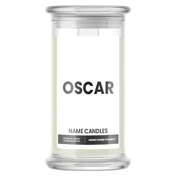 OSCAR Name Candles