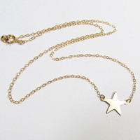Star Station Necklace, Emma Watson, Perks of being a Wallflower-- Celebrity Inspired