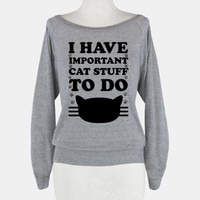 I Have Important Cat Stuff To Do