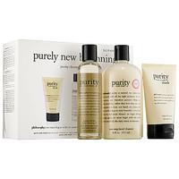 philosophy Purely New Beginnings Purity Cleansing Collection Trio