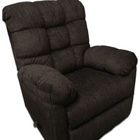 Radar Brown Rocking Recliner by Serta Upholstery