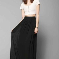 Pins And Needles Yoke Chiffon Maxi