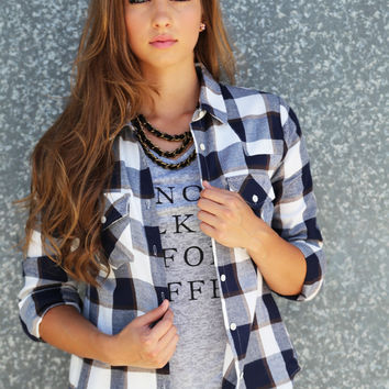 It's A Plaid Thing {Navy}