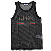 G Fashion Casual Mesh Vest Tank Top