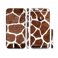 The Real Giraffe Animal Print Sectioned Skin Series for the Apple iPhone6s Plus