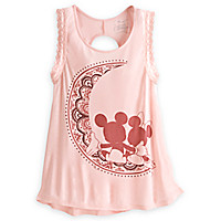 Mickey and Minnie Mouse Tank Top for Women