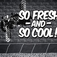 Fresh and Cool Photography Backdrop / 8197