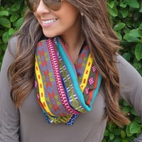 Tell Me Your Secrets Infinity Scarf: Multi