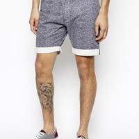 Bellfield Shorts With Fish Print