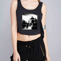 mice and men for Crop Tank Girls S, M, L, XL, XXL *07*