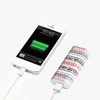 Native American Power Bank Charger for iPhone and Samsung