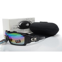 Ready Stock Original Oakley Sunglasses Unisex Eyeglass Black Colorful Lens