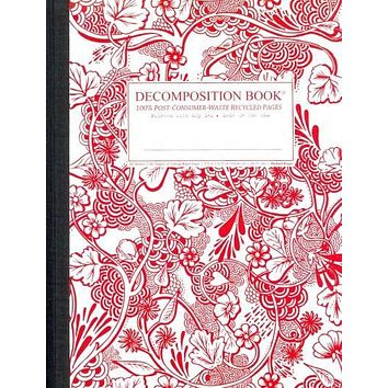 Wild Garden: Decomposition Book: College-ruled Composition Notebook With 100% Post-consumer-waste Recycled Pages