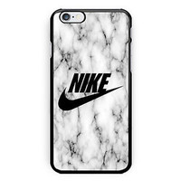 New Nike Logo Cool White Marble Hard Case Cover for iPhone 6/6s 6s Plus 7 7 Plus