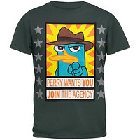 Phineas & Ferb - Perry Wants Soft T-Shirt