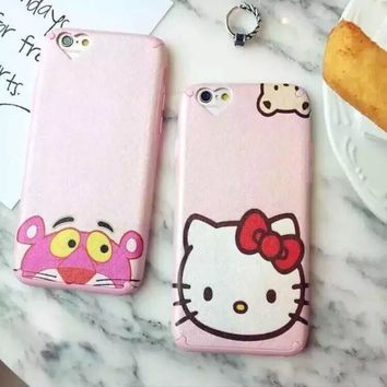 Hot Deal On Sale Cute Stylish Hot Sale Iphone 6/6s Cats Apple Cartoons Soft Phone Case [6034147969]