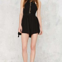 Hate the Game Lace Romper