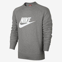 The Nike AW77 Lightweight Solstice Crew Men's Sweatshirt.