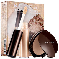 Glow on The Go Shimmering Skin Perfector™ Moonstone Set - BECCA | Sephora