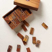 Wooden Domino Set by Anthropologie Multi One Size House & Home