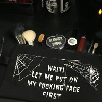 PRE ORDER Mean Makeup Bag