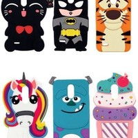 Batman Dark Knight gift Christmas For LG Stylo 3 Cases 3D Silicon Minnie Cupcake Batman Stitch Cartoon Soft Phone Case Back Cover for LG For LG Stylus 3 5.7 inch AT_71_6