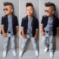 Kids Boys Girls Baby Clothing Products For Children = 4445986052
