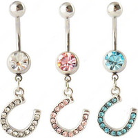 Horseshoe Belly Button Ring