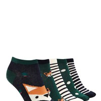 Holiday Ankle Sock Set - 5 Pack