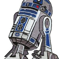 Star Wars - R2-D2 - Droid - Embroidered Iron On or Sew On Patch R2D2